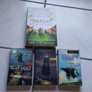Hardcover/ paperbacks by Charlaine Harris (4)